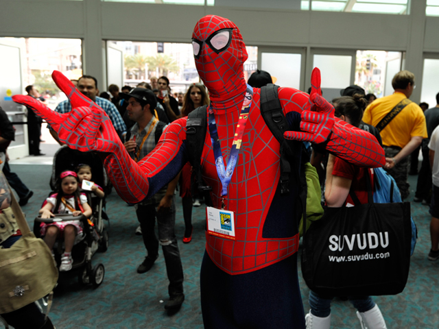 Fan Comics Fans Meet Authors at Comic-con