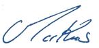 Markus Dohle signature
